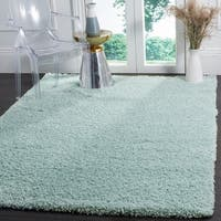 "Safavieh Laguna Light Blue Shag Rug - 5'3"" x 7'6"""