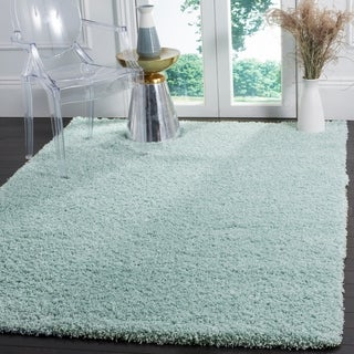 Safavieh Laguna Light Blue Shag Rug - 5' 3 x 7' 6
