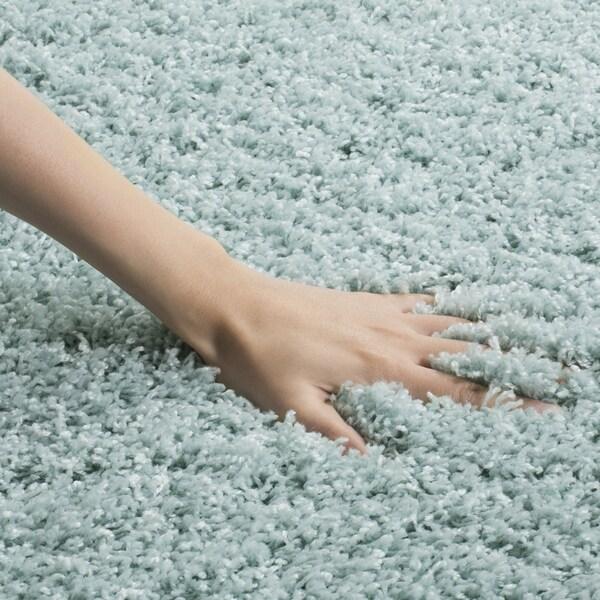 safavieh laguna light blue shag rug 5u0027 3 x 7u0027