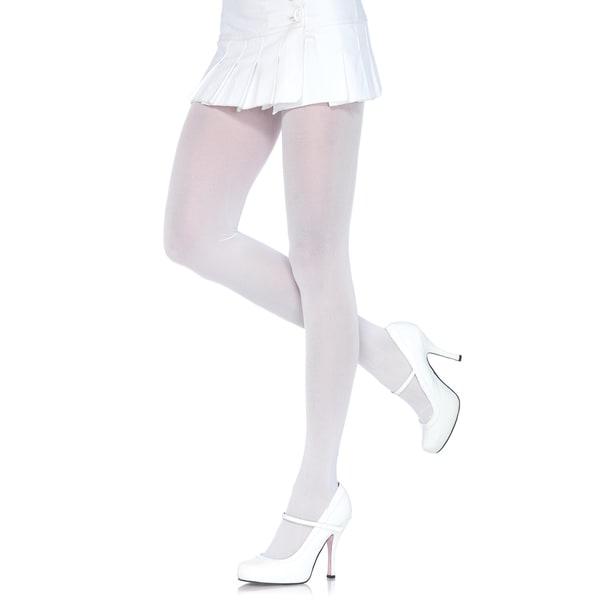 aaa1c601c32 Shop Leg Avenue Nylon Lycra Plus-size Tights - Free Shipping On ...