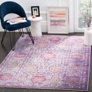 Safavieh Sutton Lavender / Ivory Area Rug (5' x 7')