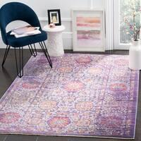 Safavieh Sutton Oriental Lavender/ Ivory Area Rug - 5' x 7'