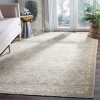 Safavieh Sivas Hand-Woven Wool Light Blue / Ivory Area Rug - 6' x 9'