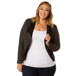 Sealed with a Kiss Women's Plus Size Paulina Knit Jacket