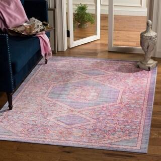 Safavieh Windsor Schahnaz Cotton/ Polyester Silky Distressed Rug