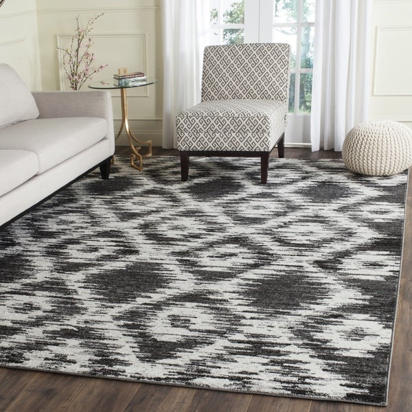 Shop Safavieh Adirondack Modern Charcoal Ivory Area Rug