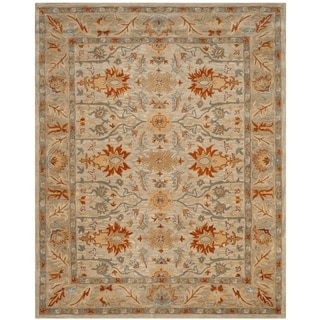 Safavieh Antiquity Hand-Woven Wool Beige / Multi Area Rug (9'6 x 13'6)