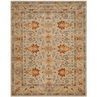 "Safavieh Antiquity Hand-Woven Wool Beige / Multi Area Rug - 9'6"" x 13'6"""