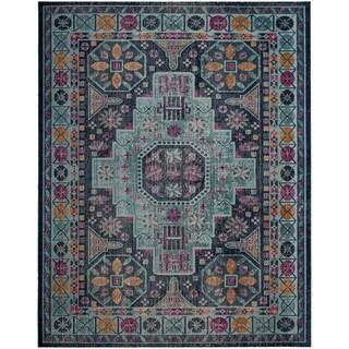 Safavieh Artisan Vintage Blue / Multi Cotton Rug (8' x 10')