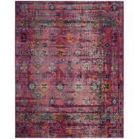 Safavieh Artisan Vintage Bohemian Fuchsia Pink/ Multi Distressed Rug - 8' x 10'