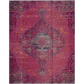 Safavieh Artisan Vintage Bohemian Fuchsia Pink/ Multi Rug (9' x 12')