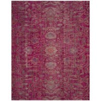 Safavieh Artisan Vintage Bohemian Fuchsia Pink Distressed Rug - 8' x 10'