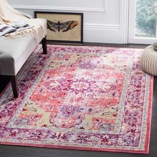 Safavieh Claremont Virgia Vintage Boho Oriental Polyester Rug