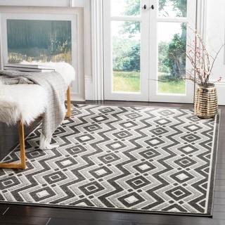 Safavieh Cottage Dark Grey / Light Grey Area Rug (9' x 12')
