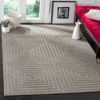 Safavieh Cottage Light Grey / Grey Area Rug (9' x 12')