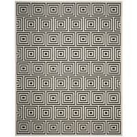 Safavieh Cottage Black / Creme Area Rug (9' x 12')