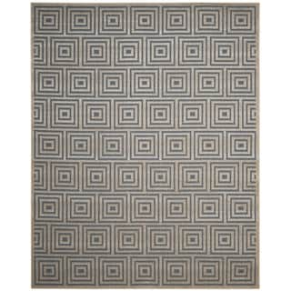 Safavieh Cottage Light Blue / Cream Area Rug (9' x 12')