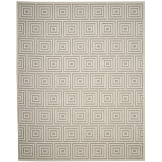 Safavieh Cottage Grey / Cream Area Rug (9' x 12')
