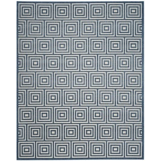 Safavieh Cottage Cream / Light Blue Area Rug (9' x 12')