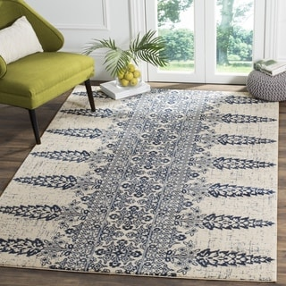 Safavieh Evoke Ivory / Royal Area Rug (9' x 12')