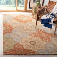 Safavieh Heritage Hand-Woven Wool / Cotton Multi Area Rug - 8' x 10'