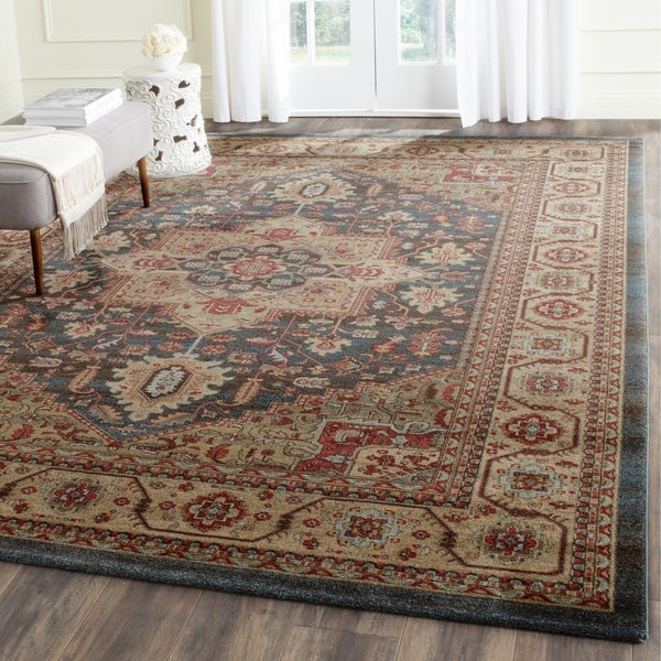 Safavieh Mahal Navy / Natural Area Rug - 10' x 14'