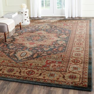 Safavieh Mahal Navy Natural Area Rug 8 X 10