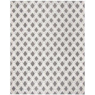 Safavieh Handmade Mirage Grey/ Ivory Viscose Area Rug (9' x 12')