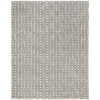 Safavieh Handmade Mirage Charcoal/ Ivory Viscose Area Rug (9' x 12')