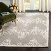 Safavieh Manchester Hand-Woven Wool Beige / Ivory Area Rug - 8' x 10'