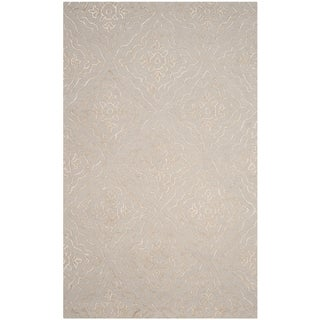 Safavieh Manchester Hand-Woven Wool Light Blue / Taupe Area Rug (8' x 10')