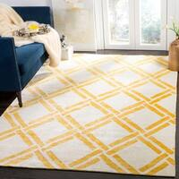 Safavieh Moroccan Hand-Woven Ivory / Gold Area Rug - 9' x 12'
