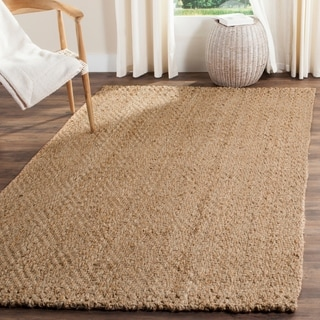 safavieh natural fiber handwoven jute natural area rug 10u0027 x - Natural Area Rugs