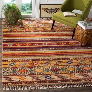 Safavieh Nomad Hand-Woven Wool Multi Area Rug (9' x 12')