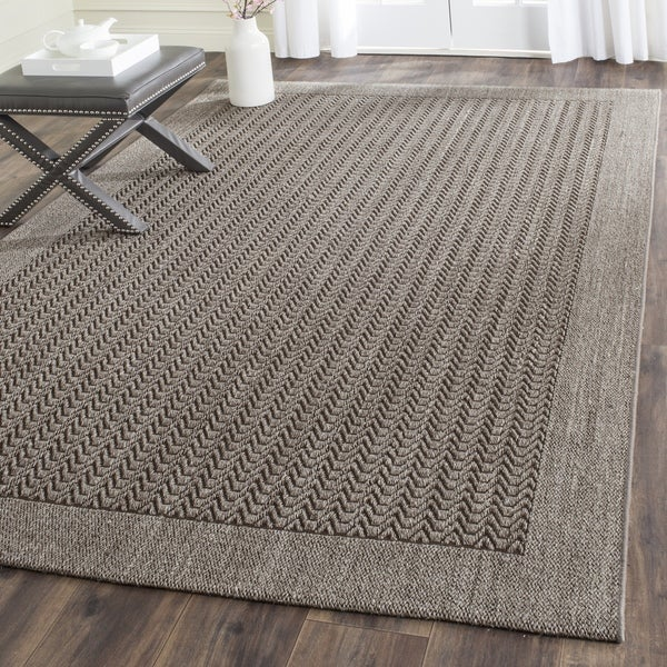 safavieh palm beach sisal jute silver area rug 8 39 x 10 39 free shipping today overstock. Black Bedroom Furniture Sets. Home Design Ideas