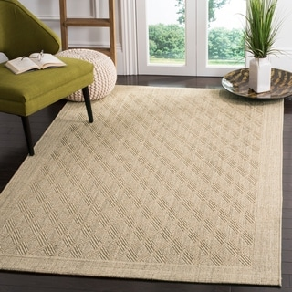Safavieh Palm Beach Sisal / Jute Sand Area Rug (8' x 10')