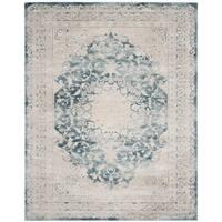 Safavieh Palermo Vintage Oriental Blue / Beige Viscose Rug - 8' x 10'