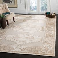 Safavieh Paseo Hand-Knotted Beige Wool Rug - 9' x 12'