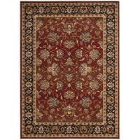 Safavieh Summit Red / Dark Grey Area Rug - 8' X 10'