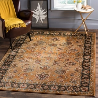 Safavieh Summit Beige / Dark Grey Area Rug (6'7 x 9'2)