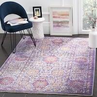 Safavieh Sutton Oriental Lavender/ Ivory Area Rug - 9' x 13'