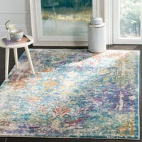 Safavieh Sutton Watercolor Turquoise/ Lavender Area Rug - 8' x 10'