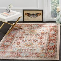 Safavieh Sutton Oriental Ivory / Brick Red Area Rug - 8' x 10'