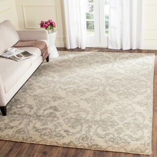 Safavieh Sivas Hand-Woven Wool Ivory / Grey Area Rug (9' x 12')