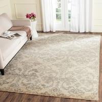 Safavieh Sivas Hand-Woven Wool Ivory / Grey Area Rug - 9' x 12'