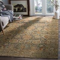 Safavieh Sivas Hand-Woven Wool Grey / Beige Area Rug - 8' x 10'