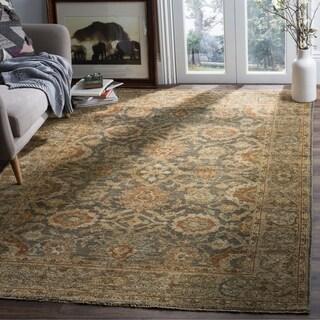 Safavieh Sivas Hand-Woven Wool Grey / Beige Area Rug (9' x 12')