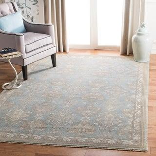 Safavieh Sivas Hand-Woven Wool Light Blue / Ivory Area Rug (8' x 10')