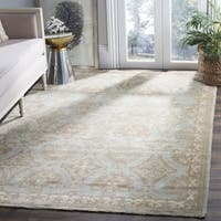 Safavieh Sivas Hand-Woven Wool Light Blue / Ivory Area Rug - 9' x 12'