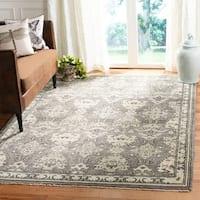 Safavieh Sivas Hand-Woven Wool Dark Grey / Light Grey Area Rug - 9' x 12'